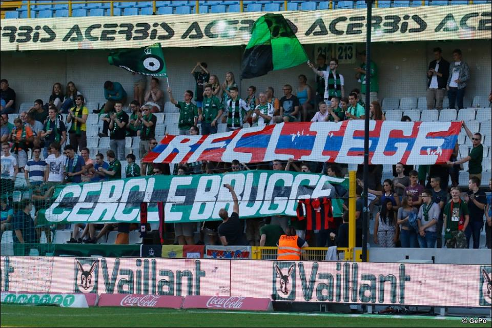 August 22, 2015. Fifth Round in the road to the Belgian Cup Final 2015-2016. Cercle Bruges - RFC Liège: 2-0
